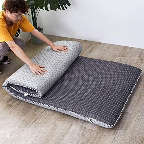Huan Tatami Bodenmatte, Weich verdicken Matratzenauflage Faltbare Futon-Matratze-bewegliche Schlafenauflage japanische Futon-Matratze for Dorm (Farbe : G, Size : 80x200cm(31x79inch))