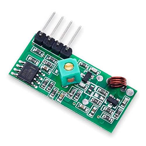 ZRYYD Wireless Link Sender und Empfängermodul RF 433MHz Radiofrequenz TX RX für Robotikelektronik Himbeer Pi DIY