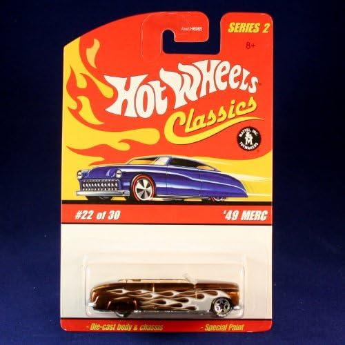 1:64 Hot Wheel Cool Collectibles Tire Petersen Series /'49 Merc Purple Primer