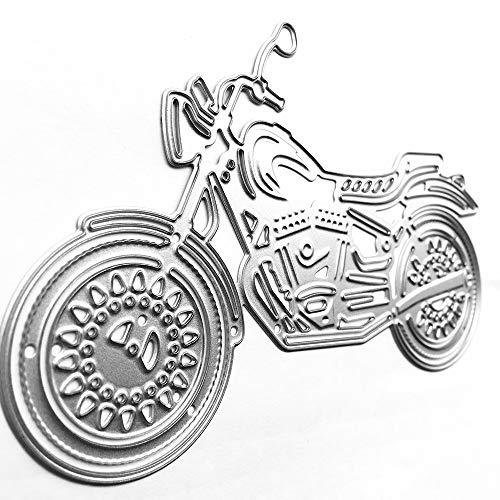 Neue Ankunft Metall Stanzformen, Fahrzeug Motorrad/Fahrrad Handwerk Stirbt Schablonen Scrapbooking Fotoalbum Karte