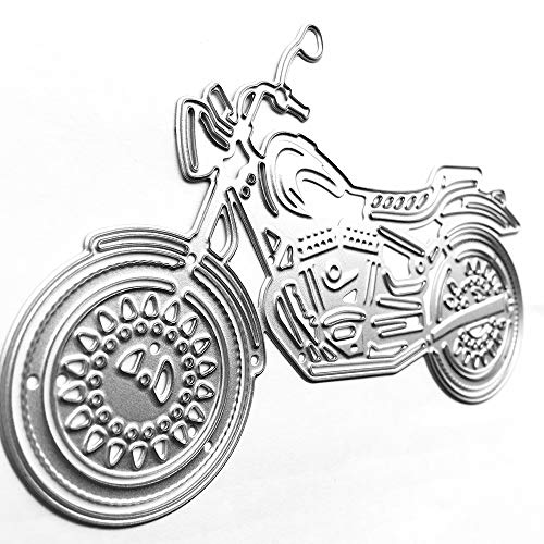 AILOVA Troqueles de corte, Vehículo de Motocicleta/Bicicleta Artesanía Troqueles de Corte de Metal Plantillas de Scrapbooking Álbum de Fotos de la Fabricación de la Tarjeta de Plantilla de la Carpeta
