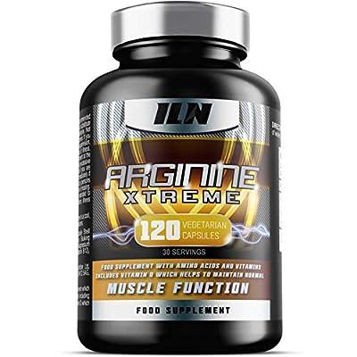 Arginine Xtreme: L-Arginine (2,800mg) Advanced Arginine supplement with L-Glutamine for Muscle Strength, Growth & Development (120 Capsules, 30 Day Supply)