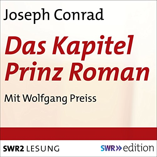Das Kapitel Prinz Roman audiobook cover art