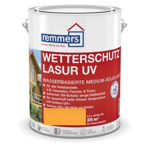 Remmers Wetterschutz-Lasur UV - kiefer 2,5L