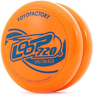 ヨーヨー ループ720(ジャパン Ver.) 初心者向けDVD付 ヨーヨーファクトリー (オレンジ)