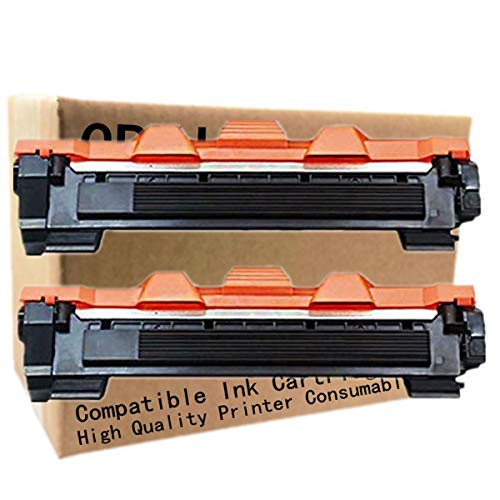 No-Name Compatible 2 Pack High Yield Black Toner Cartridge Replacement for Brother TN-1000 TN-1030 TN-1050 TN-1060 TN-1070 TN-1075 DCP-1510 DCP-1510R DCP-1512 DCP-1512R Laser Printer