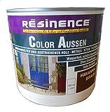 Resinence 250ml, Color Aussen Havanna-Braun Seidenmatt, Aussenbereich