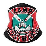 nxnx Sombreros Resistentes, Bufanda de Tubo, Diadema con Calentador de Cuello para Deportes al Aire Libre Fire Force BandaBalaclava