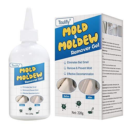 Eliminador de moho, gel removedor de moho, removedor de moho y hongos, gel removedor de milagros para el hogar, limpiador de moho, limpiador de muros, elimina y evita manchas de moho en el hogar