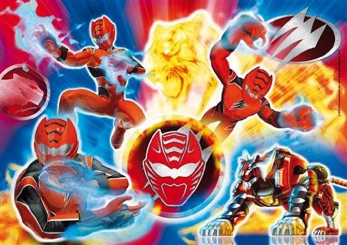 Clementoni 277148- Puzzle Infantil de Power Rangers
