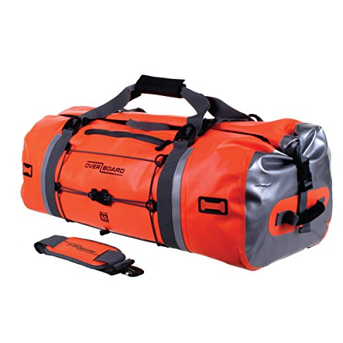 Overboard Pro-Vis - Borsone impermeabile, 60 L, colore: arancione