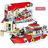 LEGO City Downtown Fire Brigade 60216 Building...