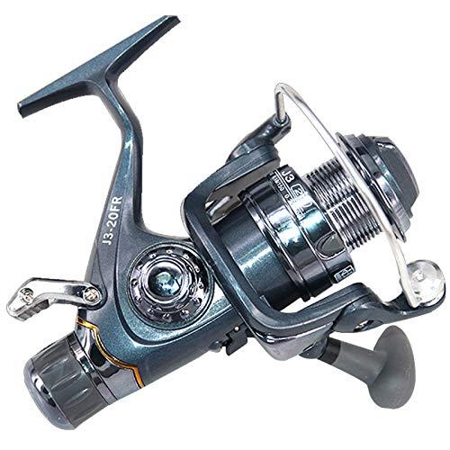Carretel de pesca Greaked 20# 30# de metal frontal traseiro freio molinete de pesca carpa, J3-30, tamanho �nico