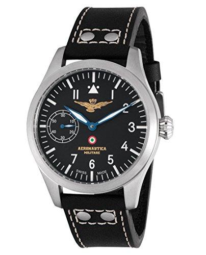 Aeronautica Militare AVM1C1 - Reloj, Correa de Piel de Borrego Color Negro