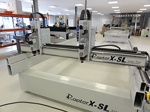 Freesmachine/Portale Frees RaptorX met stalen frame & dubbele Y/Z-as - 3200x2010mm - CNC-STEP
