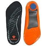 Sof Sole Insoles Men's PLANTAR FASCIA Support 3/4 Length Gel Shoe Insert, Men's 7-13