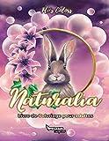 Livre de coloriage pour adultes : Naturalia