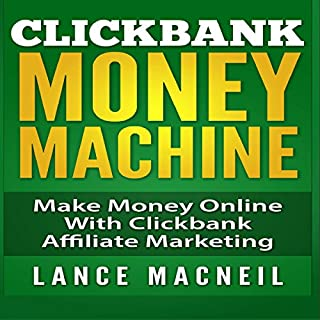 ClickBank Money Machine audiobook cover art