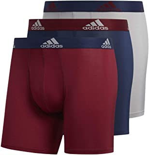 adidas Men's Sport Performance Climalite Boxer Briefs (3 Pack)