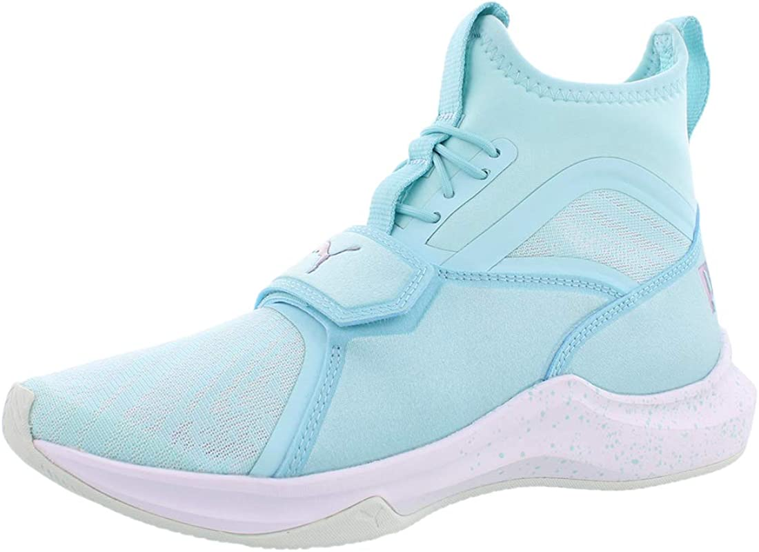 PUMA Clearance SALE! Limited time! Womens Phenom Oceannaire Canvas Hight Lace Fashion Limited time sale S Top Up