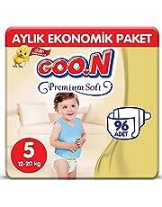 Goon Premium Soft No:5 Junior 96 Adet Bebek Bezi