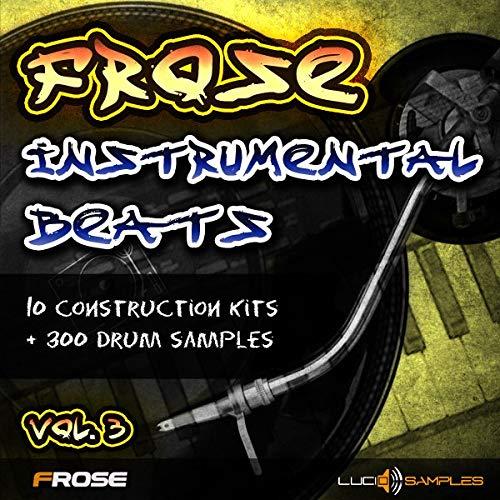 Frose Instrumental Beats Vol.3 - Fresh Instrumental Hip Hop Samples | WAV Files | DVD non Box