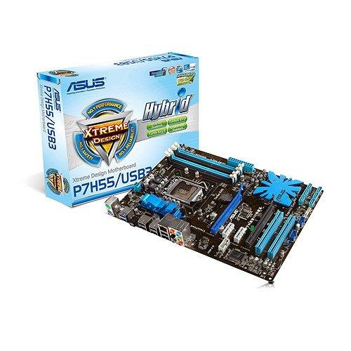 ASUS P7H55/USB3 Mainboard Sockel LGA1156 USB 3.0 DDR3 Speicher ATX