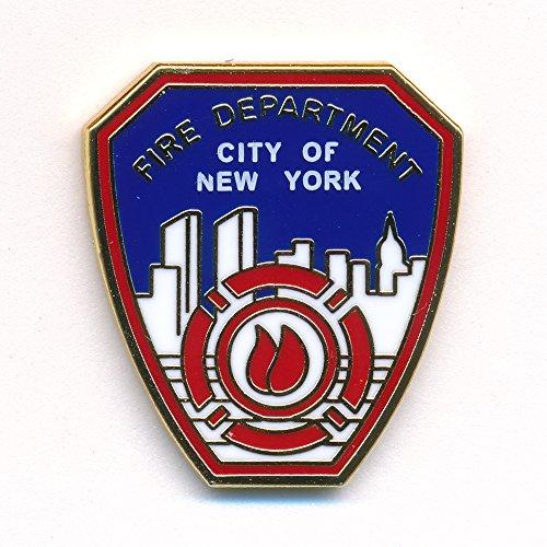 Fire Department New York FDNY Badge Emblem Feuerwehr Pin Anstecker 0088