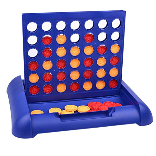 Kitabetty Conecta 4 Juegos, clásico Juego de Mesa de cuadrícula conectar 4 Juego de Mesa de Estrategia, Juegos Tradicionales alinea 4 Juegos de Mesa, Diversión para Todos los niños, niños y niñas