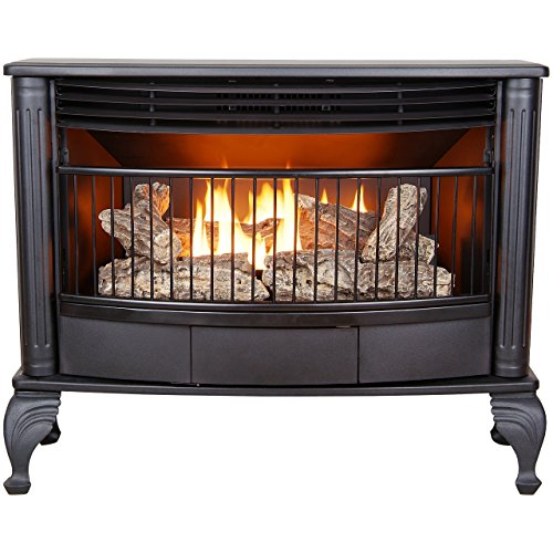 ProCom QNSD250T-A Ventless Dual Fuel Stove, Black