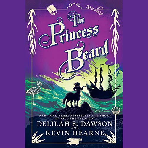 The Princess Beard audiobook cover art