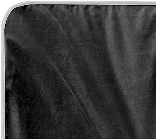 WALDHAUSEN Fleecedecke Esperia, Rückenlänge 155 cm, grau/hellgrau