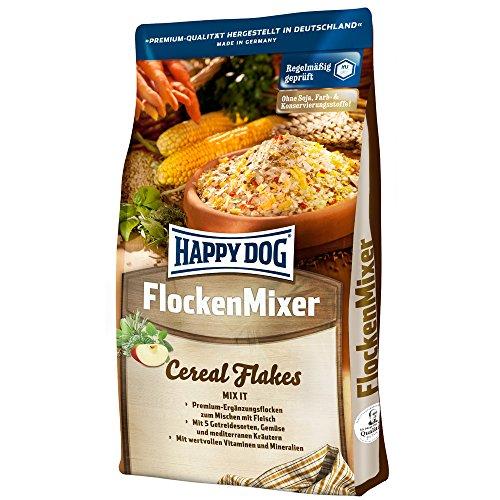 Happy Dog Hundefutter Flocken Mixer, 4er Pack (4 x 1 kg)