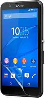 Celicious Vivid Invisible Glossy HD Screen Protector Film Compatible with Sony Xperia E4 [Pack of 2]