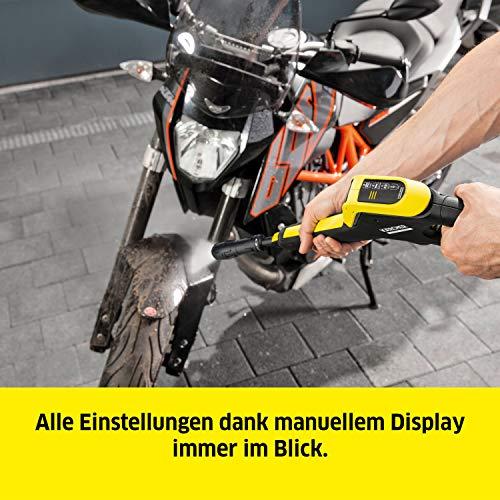 Kärcher Hochdruckreiniger K 4 Premium Power Control: Clevere App-Unterstützung - die passende Lösung für stärkere Verschmutzungen - inkl. Schlauchtrommel - 2