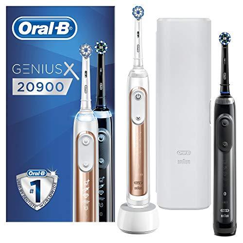 Oral-B Genius X 20900 Cepillo de dientes eléctrico, con inteligencia artificial, con...