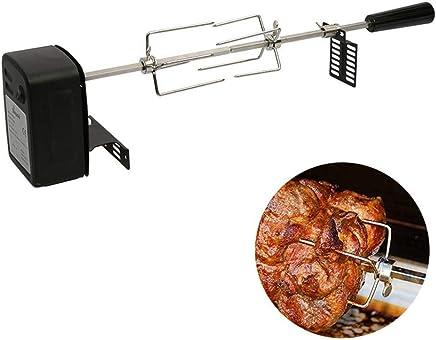 Zerodis Ventilateur Barbecue Electrique Soufflet BBQ Kit Allumeur Gaz Chalumeau pour Pique-Nique en Plein Air Utensiles de Cuisine