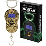 DNA New Carp Fishing Travel Hand Held Camo Digital 40kg / 88lbs Weighing Scale With Handle...