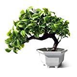 Artificial Plant, Fake Bonsai Tree for Living Room Office Hotel Home Decoration