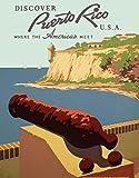 WallBuddy Puerto Rico Poster Puerto Rico Reise-Poster