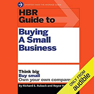 HBR Guide to Buying a Small Business cover art