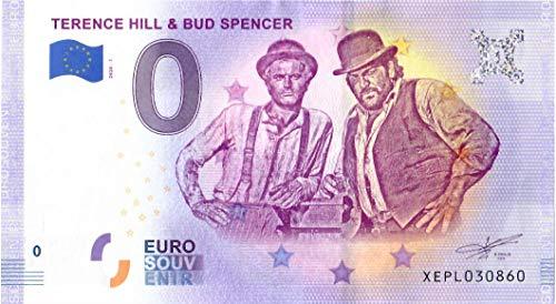 # 0 Euro Schein Deutschland 2020 · Terence Hill und Bud Spencer · Souvenir o Null € Banknote