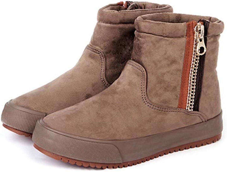 DTHJK Frauen Winter Schuhe Warme Stiefel Für Kalte Wintermode Damen Marke KnchelFrauen Stiefel