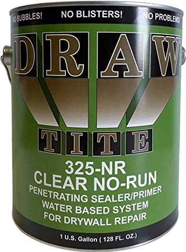DrawTite Drywall Primer & Sealer, 1 Gallon, Clear No Run SP-325
