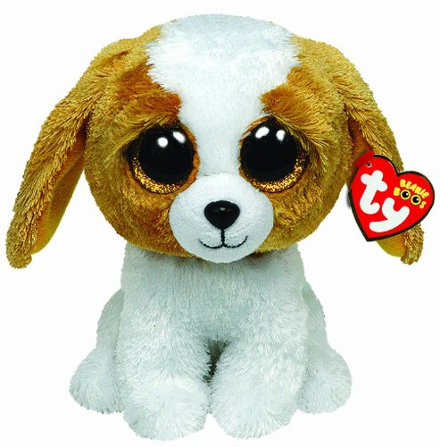 Ty Beanie Boo Cookie Dog, 6 Inch