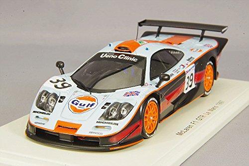 SPARK-McLaren F1GTR-Le Mans 1997Coche en Miniatura de cole