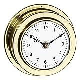 TFA Reloj Naútico De Barco Marítimo de Cuarzo Latón Pulido