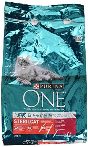 One Sterilcat Katzenfutter Rind, 3 kg
