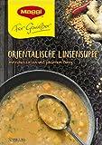 Maggi - Pour les connaisseurs Soupe orientale aux lentilles (Für Genießer Orientalische Linsensuppe)   Poids Total 65 grams