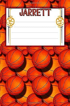 Basketball Life Jarrett: College Ruled | Composition Book